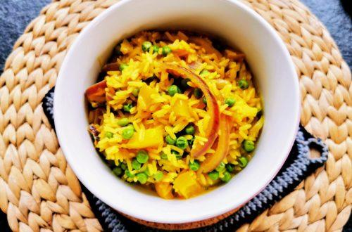 Veganes Curry selber kochen - eine einfache Variante mit viel Gemüse und für wenig Zeit